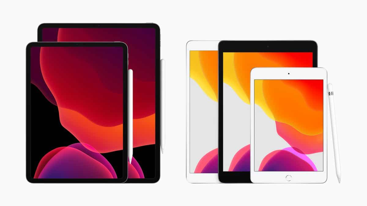Apple New iPad iPad Family 091019