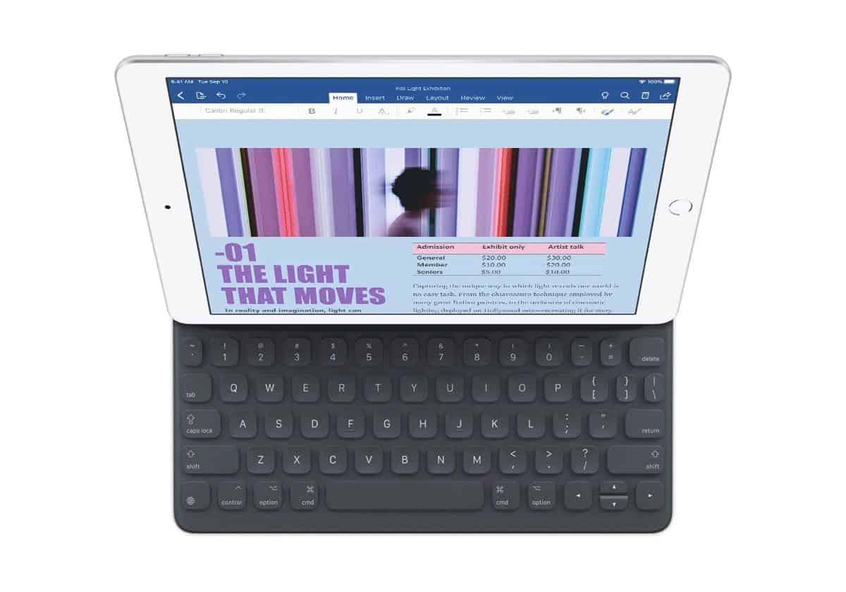 Apple New iPad Smart Keyboard 091019