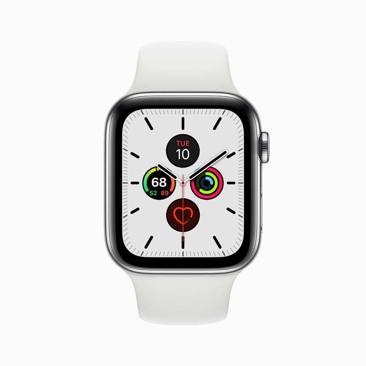 Apple watch series 5 meridian face 091019