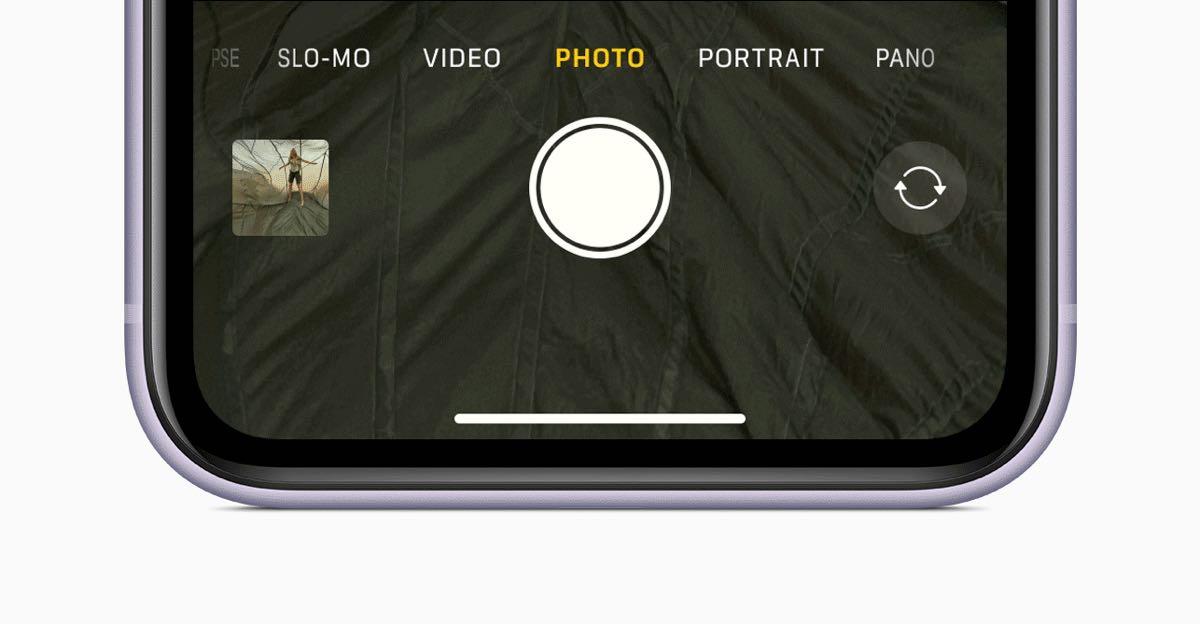 Apple iPhone 11 QuickTake 091019