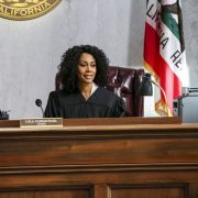 ALL RISE -- A drama that follows the dedicated, chaotic, hopeful, and sometimes absurd lives of judges, prosecutors, and public defenders as they work with bailiffs, clerks and cops to get justice for the people of Los Angeles amidst a flawed legal system. Premiering this fall (Mondays, 9:00-10:00 PM, ET/PT) on the CBS Television Network. Pictured: Simone Missick as Lola Carmichael Photo: Michael Yarish/CBS ©2019 CBS Broadcasting, Inc. All Rights Reserved