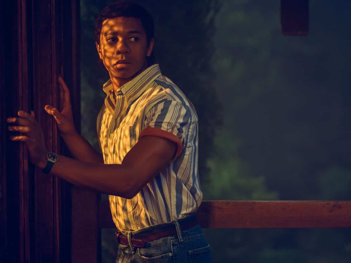AMERICAN HORROR STORY: 1984 -- Pictured: CR: DeRon Horton as Ray Powell. CR: Kurt Iswarienko FX
