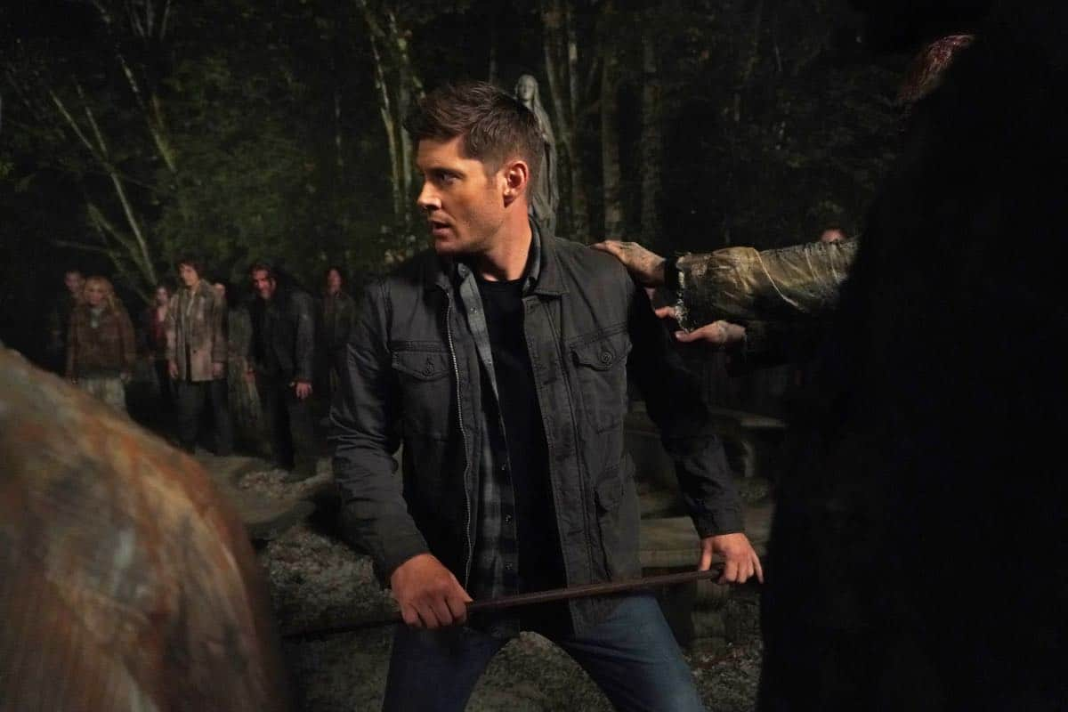 "Supernatural -- ""Back and to the Future"" -- Image Number: SN1502b_0203r.jpg -- Pictured: Jensen Ackles as Dean -- Photo: Shane Harvey/The CW -- © 2019 The CW Network, LLC. All Rights Reserved."