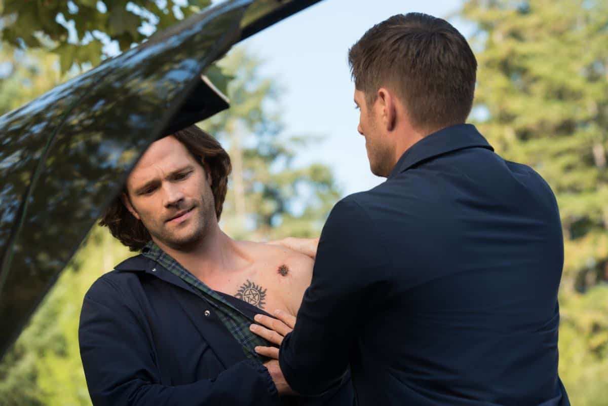 SUPERNATURAL Season 15 Episode 1 Back and to the Future 09