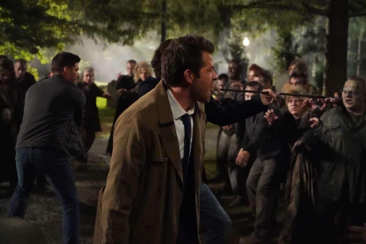 SUPERNATURAL Season 15 Episode 1 Back and to the Future 02