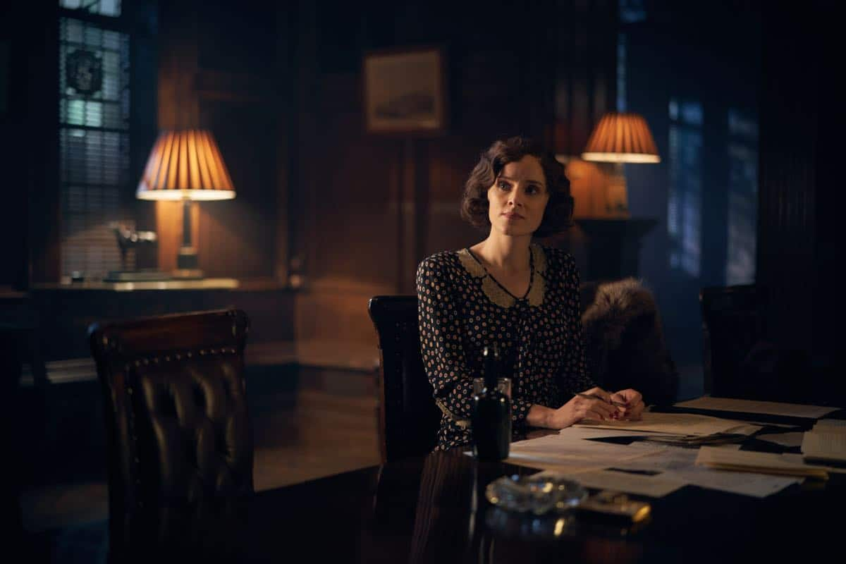 Sophie Rundle (Ada Shelby) in Peaky Blinders | Series 5 (BBC One) | Episode 01