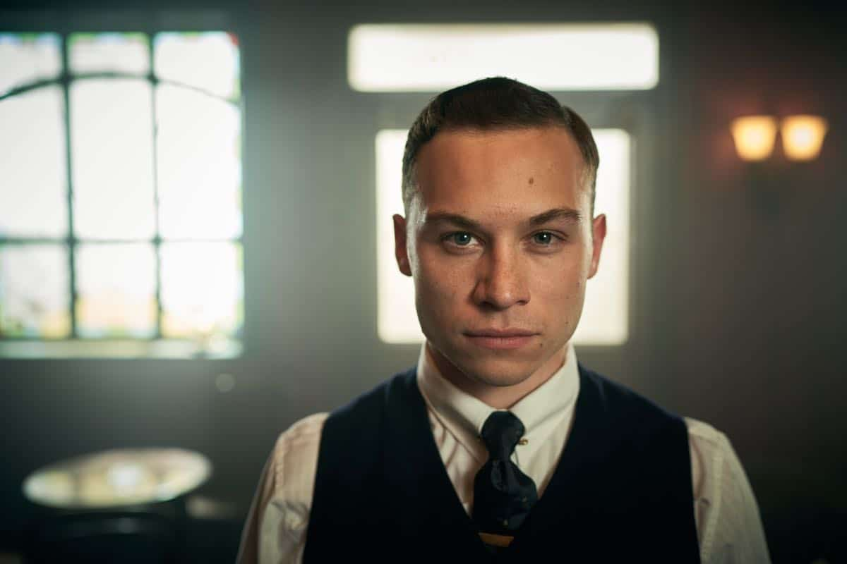 Finn Cole (Michael Gray) in Peaky Blinders | Series 5 (BBC One) | Episode 06