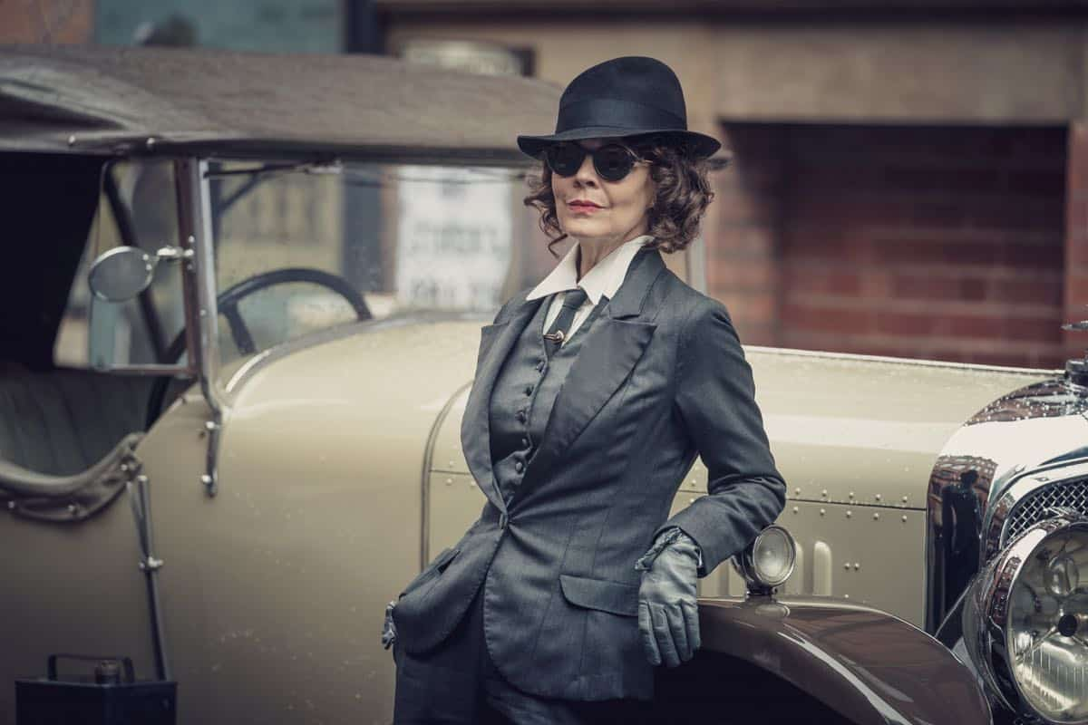 Helen McCrory (Polly Gray) in Peaky Blinders | Series 5 (BBC One) | Episode 02
