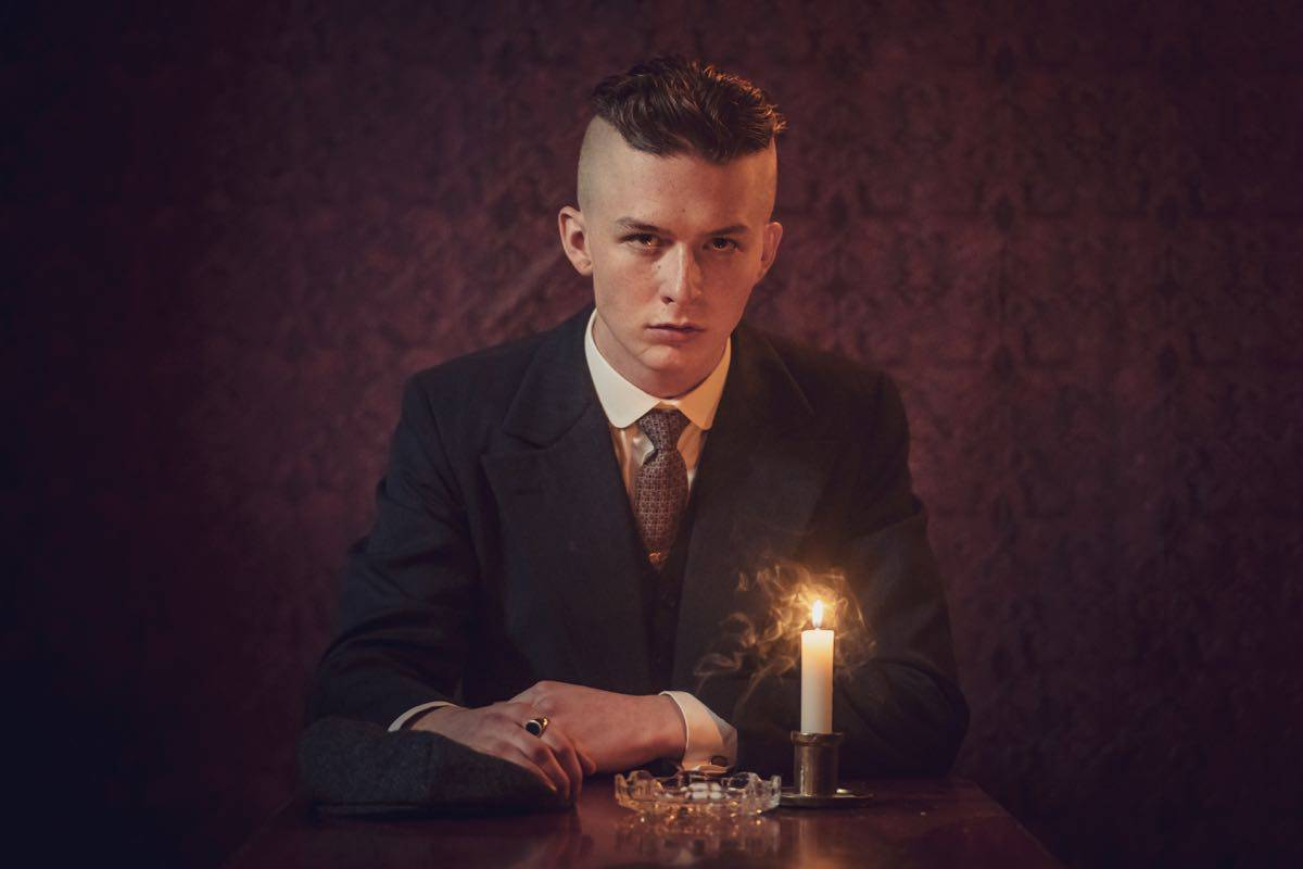 Harry Kirton (Finn Shelby) in Peaky Blinders | Series 5 (BBC One) | Episode 02