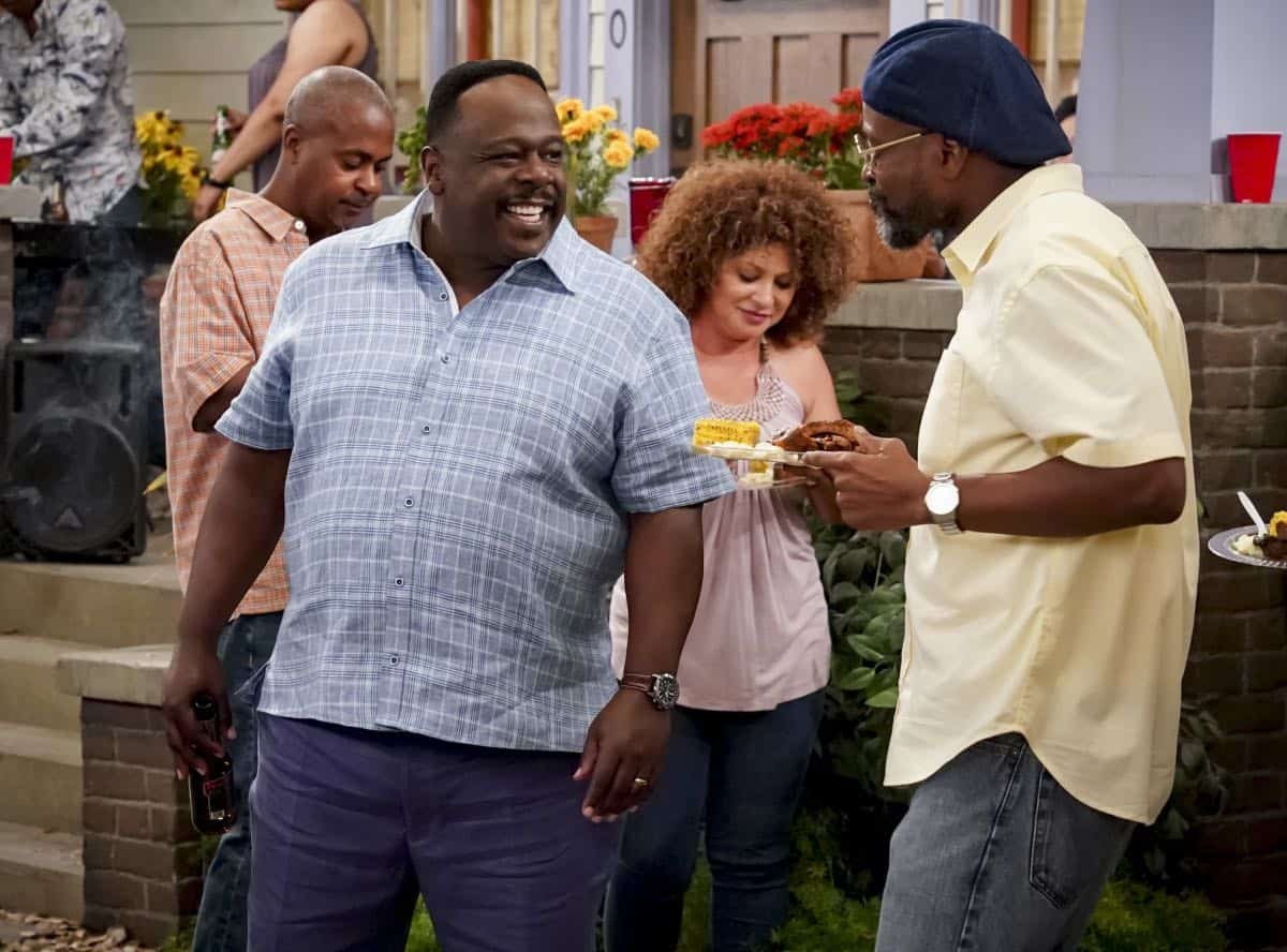 """Welcome to the Re-Rack"" - Pictured: Cedric the Entertainer (Calvin Butler). One year after the Johnsons moved next door to the Butlers, Dave is eager to take on a bigger role in Calvin's annual Yardecue and prove how much a part of the community he's become. But Calvin's reaction makes it clear that, while the relationship between the two families has grown, the friendship between Calvin and Dave still has a way to go, on the second season premiere of THE NEIGHBORHOOD, Monday, Sept. 23 (8:00-8:30 PM, ET/PT) on the CBS Television Network. Photo: Monty Brinton/CBS ©2019 CBS Broadcasting, Inc. All Rights Reserved."