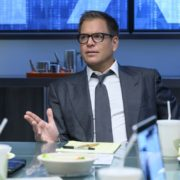"""Fantastica Voyage"" - Bull sees a visionary whereas the federal government sees a con woman when he helps the defense of a charismatic entrepreneur, Whitney Holland (Liz Alderfer), who's accused of defrauding investors in her seemingly groundbreaking water filtration system company. As the trial gets underway, Bull focuses on selecting jurors whose belief systems allow them to see his client as a dreamer who never meant criminal intent, on BULL, Monday, Sept. 30 (10:00-11:00 PM, ET/PT) on the CBS Television Network. Michael Weatherly directed the episode. . Pictured: Michael Weatherly as Dr. Jason Bull Photo: David Giesbrecht/CBS ©2019 CBS Broadcasting, Inc. All Rights Reserved"