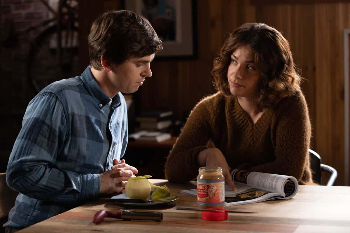 "THE GOOD DOCTOR - ""Debts"" - As Dr. Marcus Andrews vows to help a good Samaritan who was injured while stopping a sexual assault, Dr. Audrey Lim faces a difficult decision when a young patient's parents suspect that Dr. Neil Melendez made a mistake. Meanwhile, Dr. Shaun Murphy fields advice following his disastrous date with Dr. Carly Lever; and Dr. Claire Browne gets a surprise visit from her mother on an all-new episode of ""The Good Doctor,"" MONDAY, SEPT. 30 (10:00-11:00 p.m. EDT), on ABC. (ABC/Jack Rowand)"