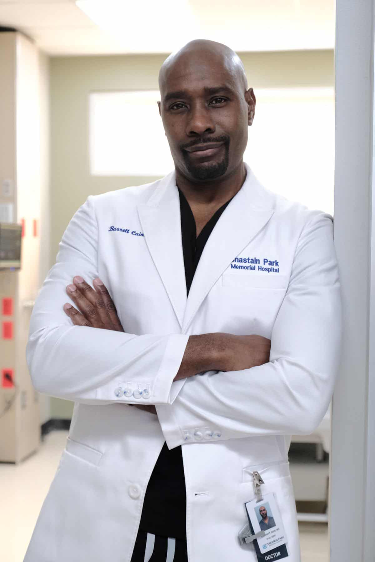 "THE RESIDENT:  Morris Chestnut in the ""Flesh of My Flesh"" episode of THE RESIDENT airing Tuesday, Oct. 1 (8:00-9:00 PM ET/PT) on FOX. ©2019 Fox Media LLC Cr: Guy D'Alema/FOX"