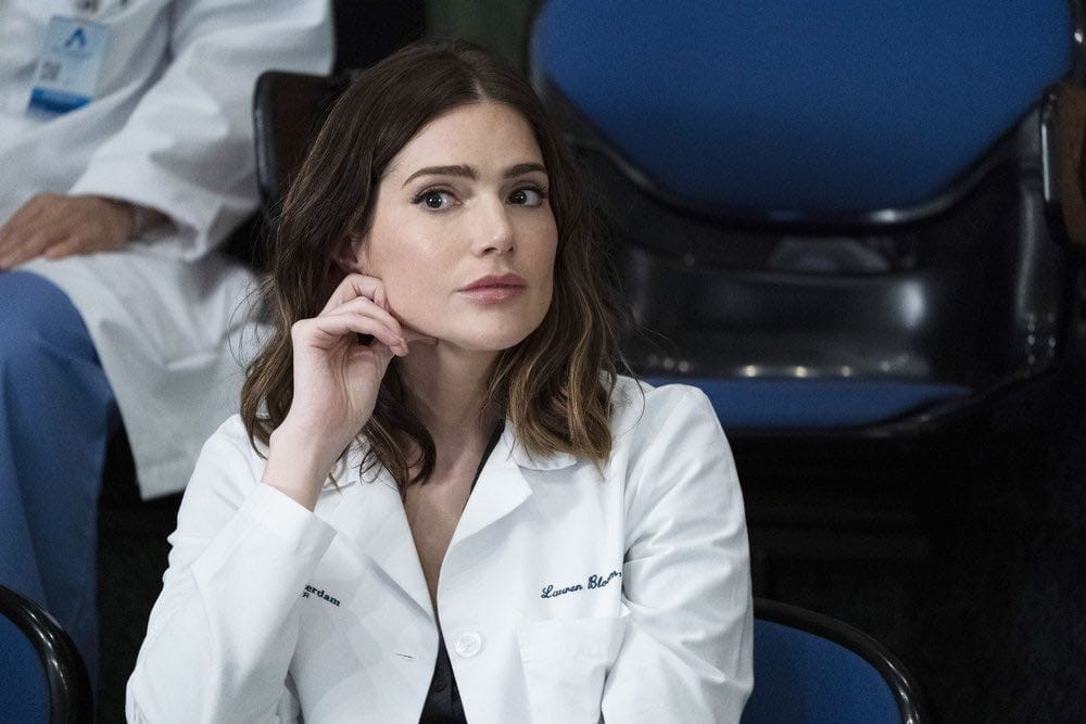 "NEW AMSTERDAM -- ""The Big Picture"" Episode 202 -- Pictured: Janet Montgomery as Dr. Lauren Bloom -- (Photo by: Virginia Sherwood/NBC)"