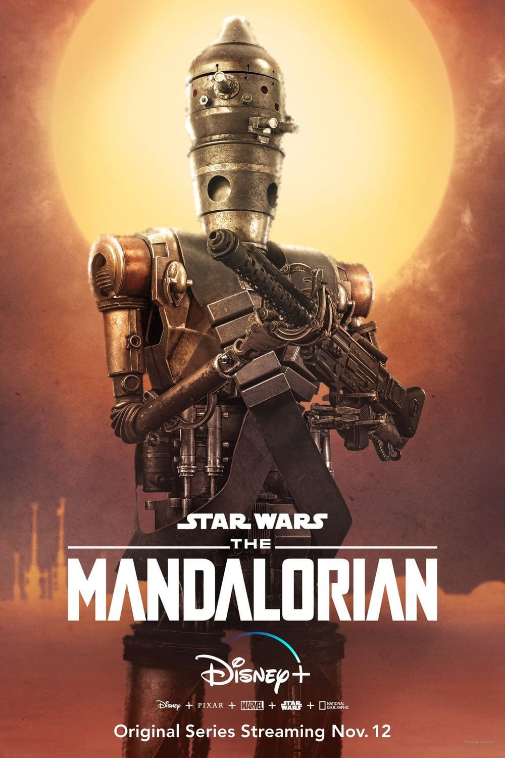 Star Wars The Mandalorian IG-11 Character Poster