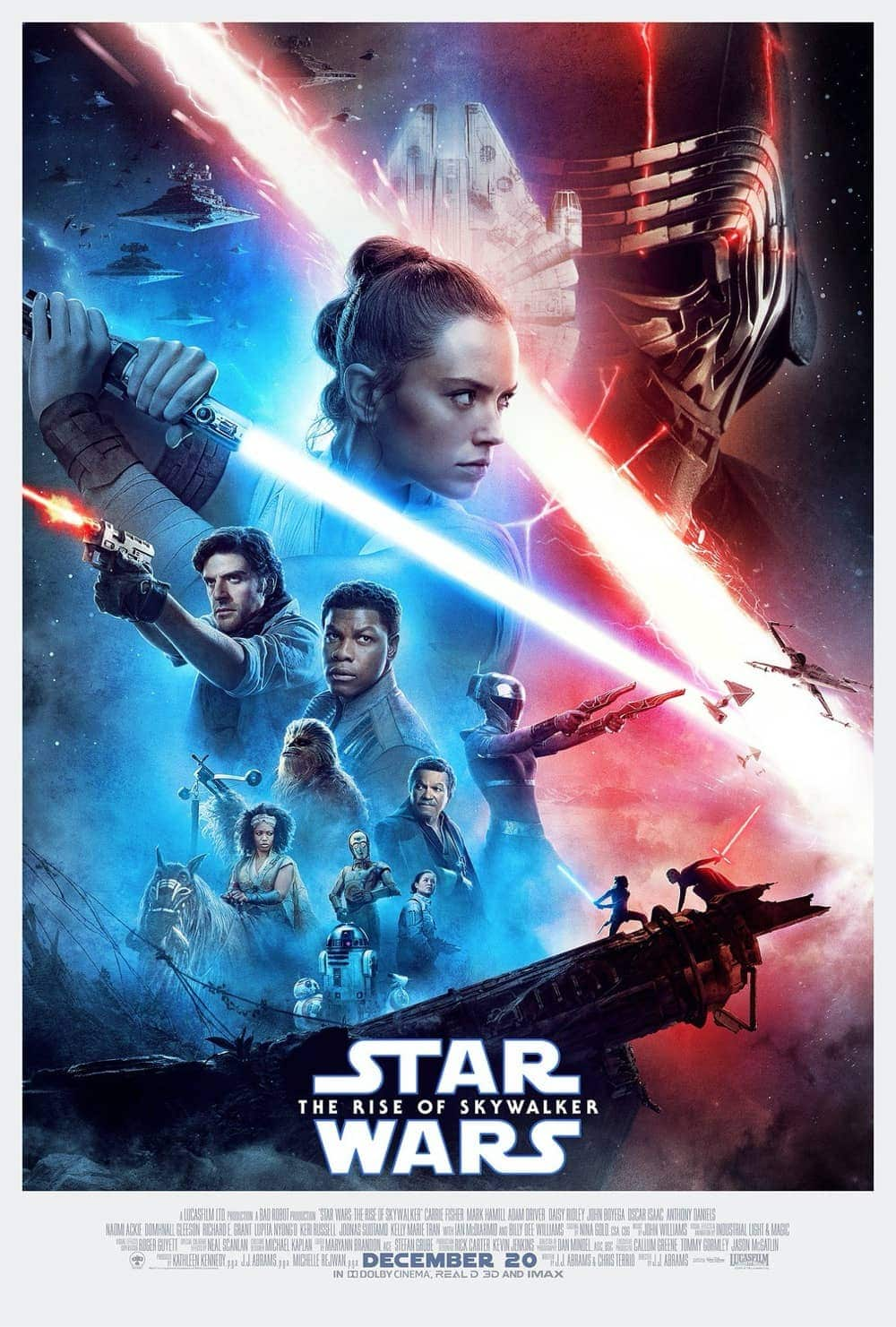 New Star Wars The Rise Of Skywalker Poster