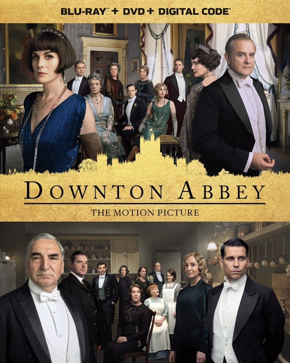 Downton Abbey The Motion Picture Bluray DVD