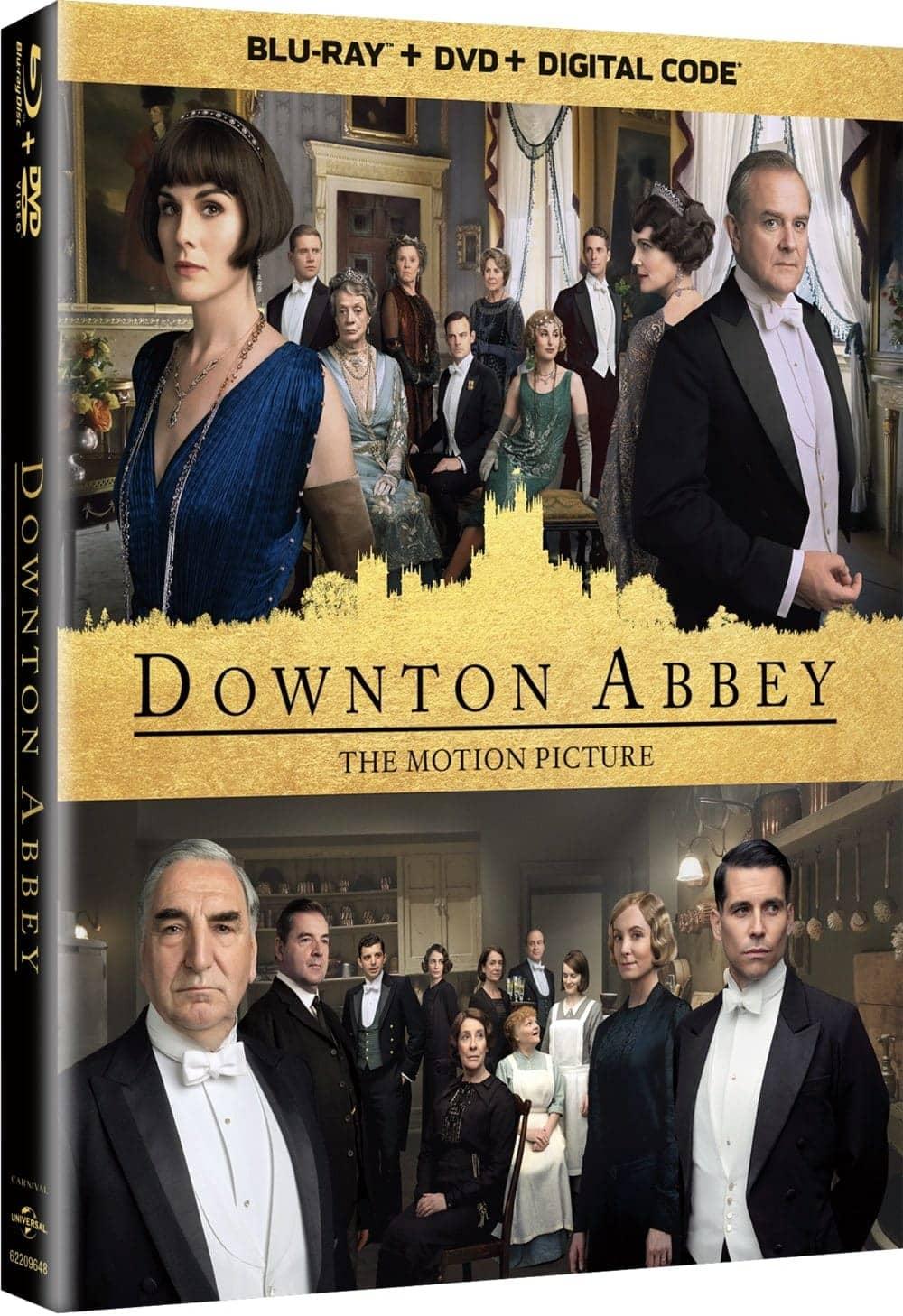 Downton Abbey The Movie Bluray DVD