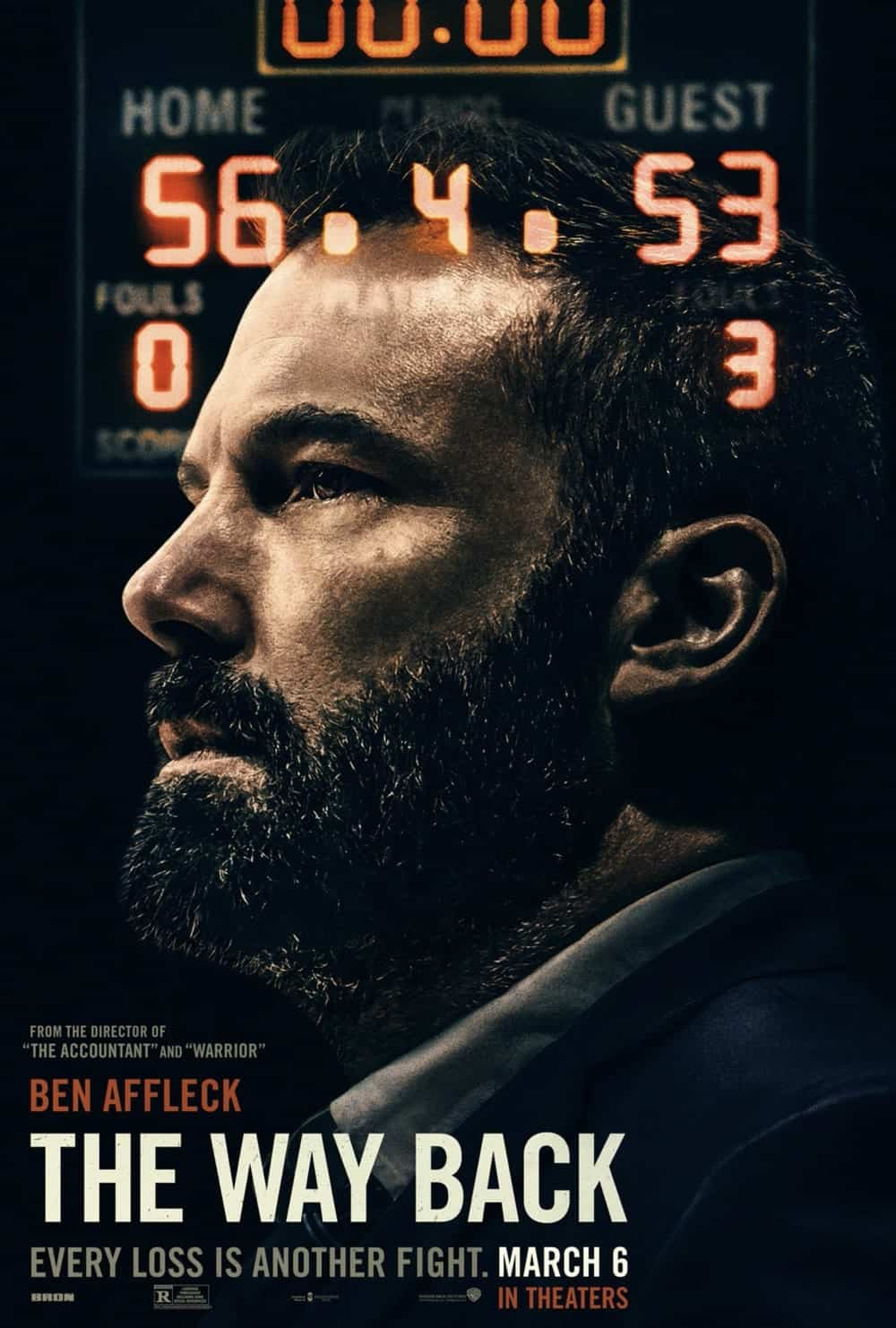 The Way Back Movie Poster Ben Affleck