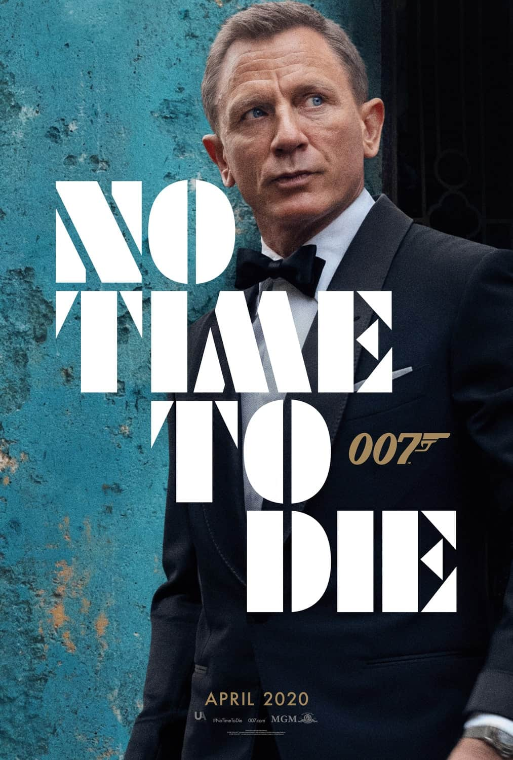 No Time To Die Poster 007 James Bond Movie