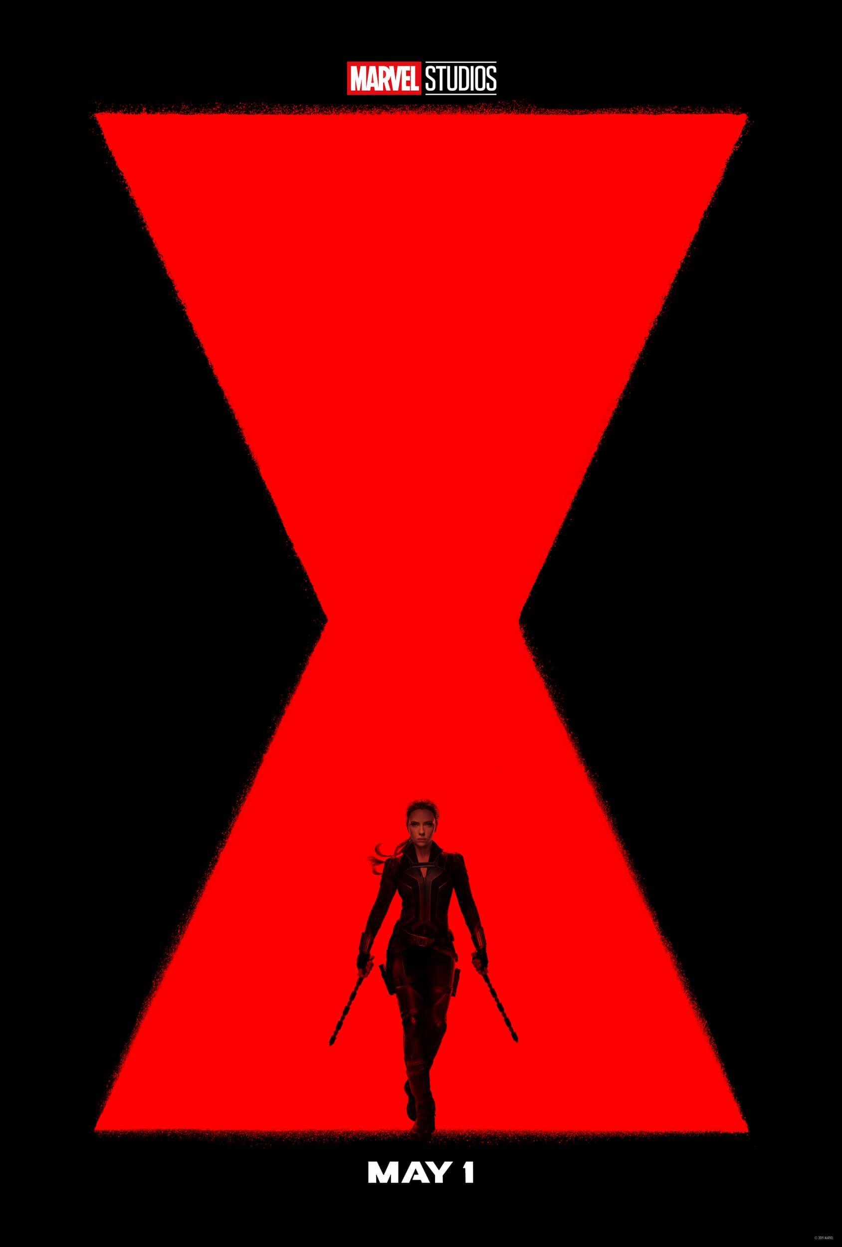 Black Widow Movie Poster 2020 Scarlett Johansson Teaser