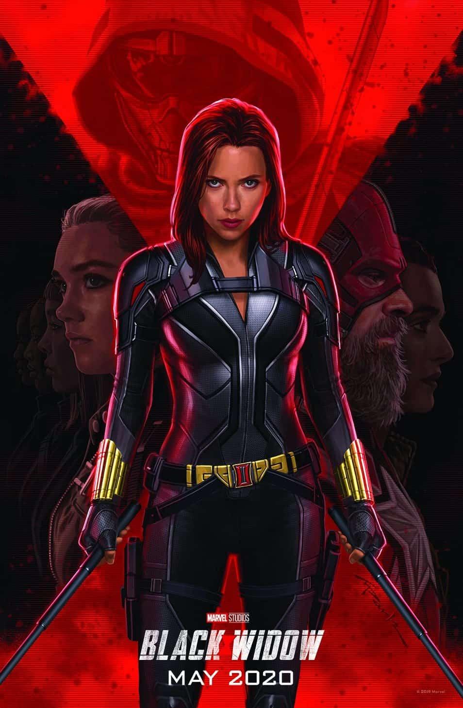 Black Widow Movie Poster 2020 Scarlett Johansson