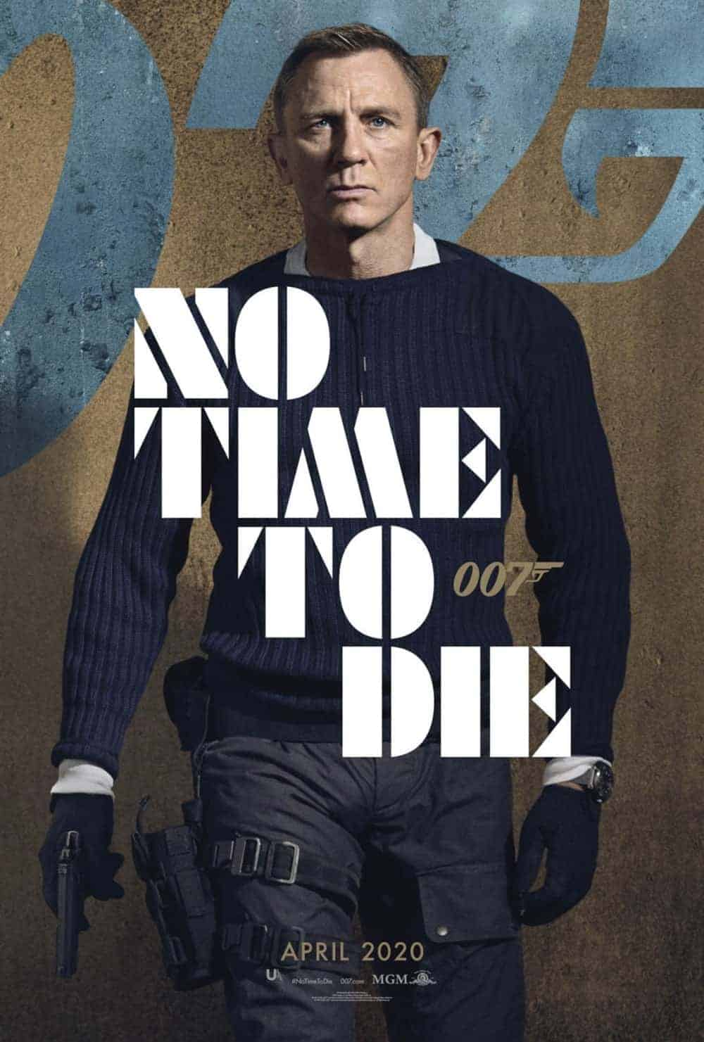 no time to die daniel craig poster