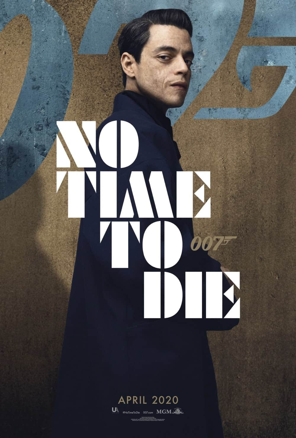 No Time To Die Poster Rami Malek As Supervillain Safin