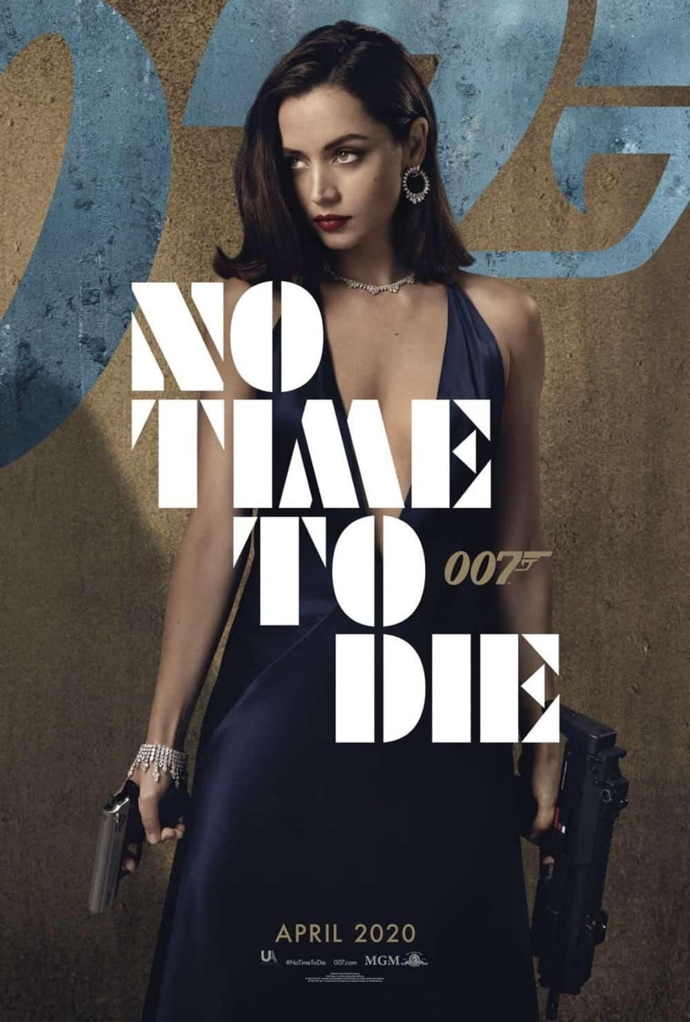 No Time To Die Poster Ana de Armas As Paloma