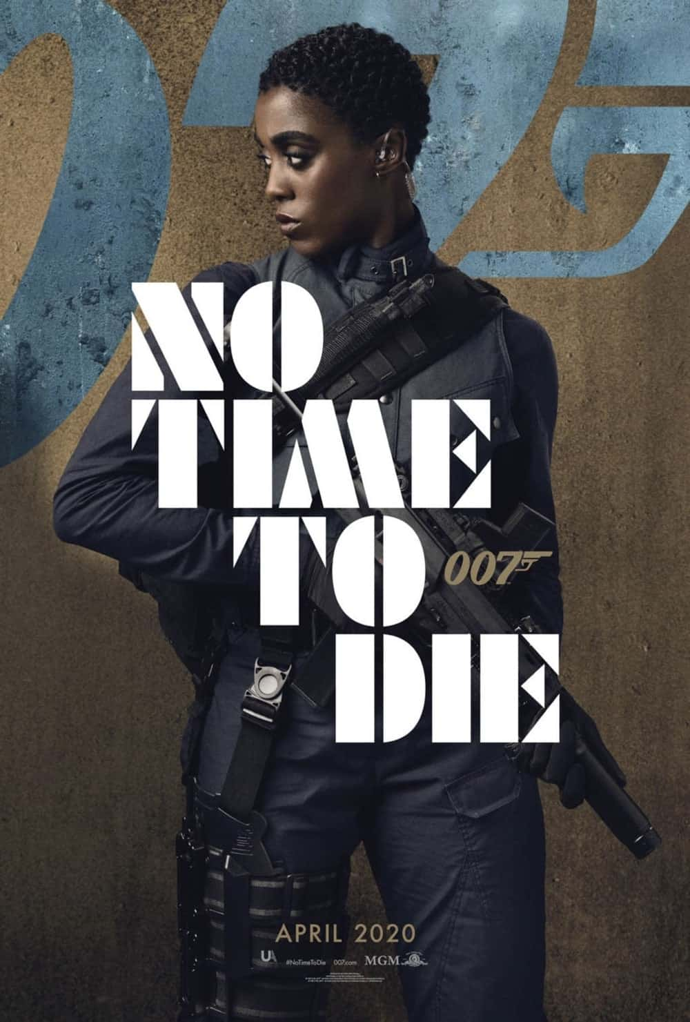No Time To Die Poster Lashana Lynch As Nomi