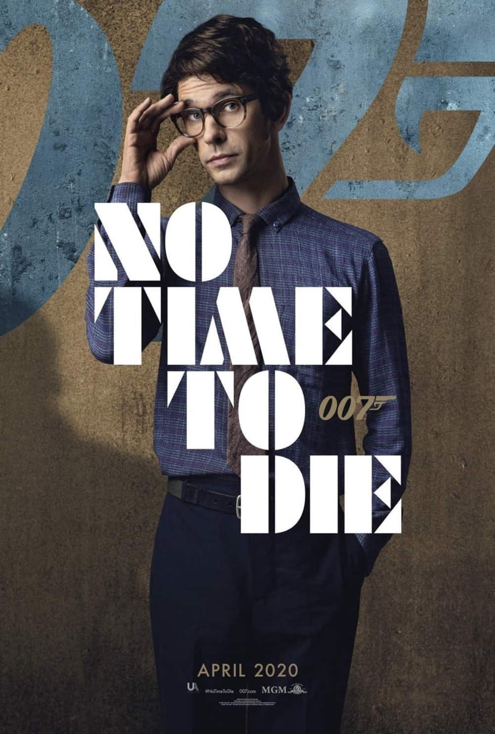 No Time To Die Poster Ben Whishaw As Q