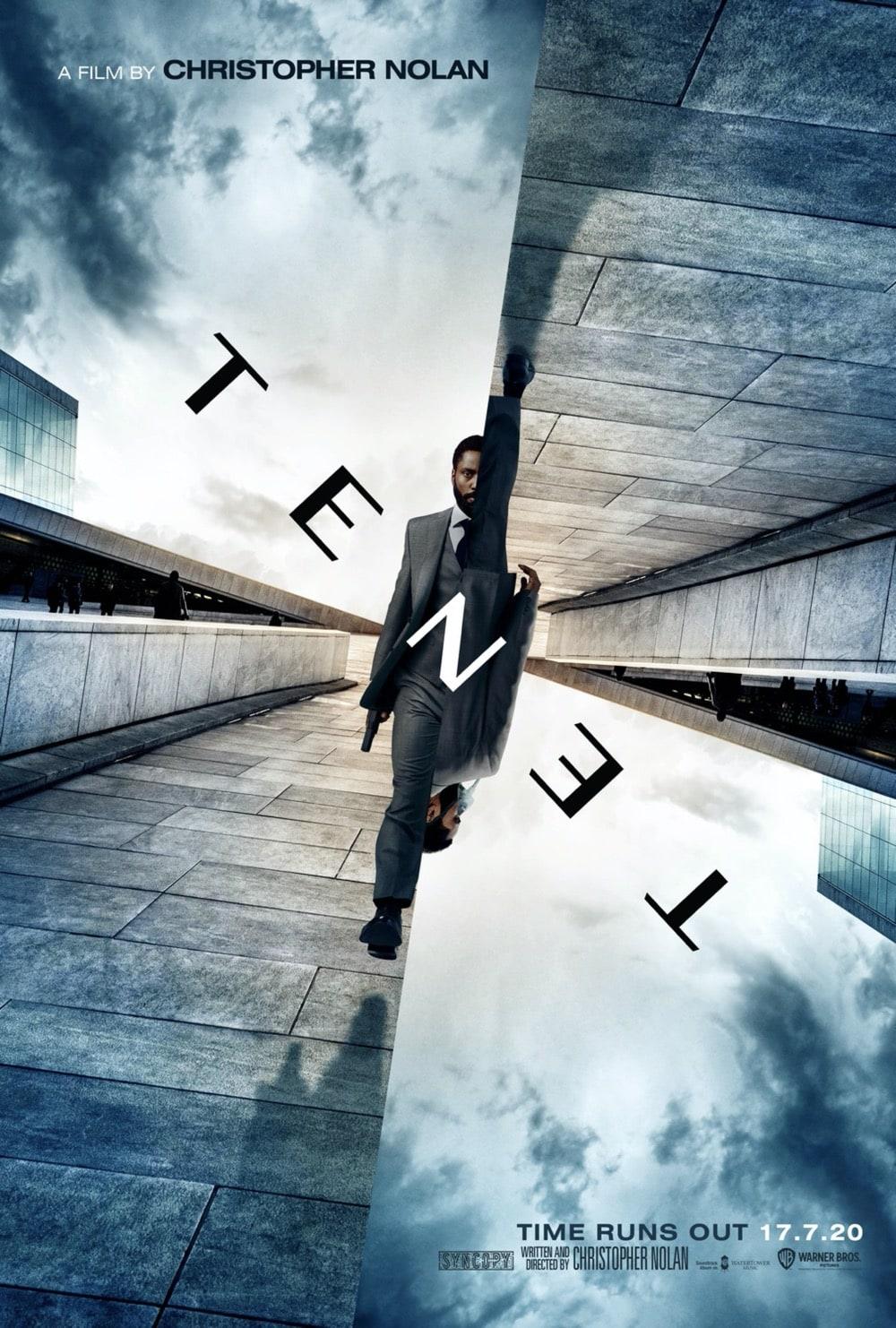 Tenet Movie Poster Nolan 2020