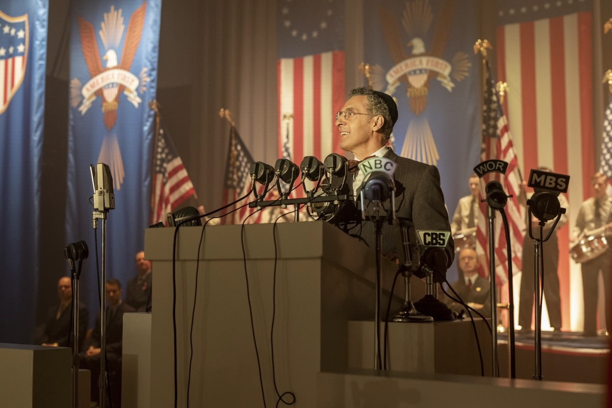 The Plot Against America HBO John Turturro. photo: Michele K. Short/HBO