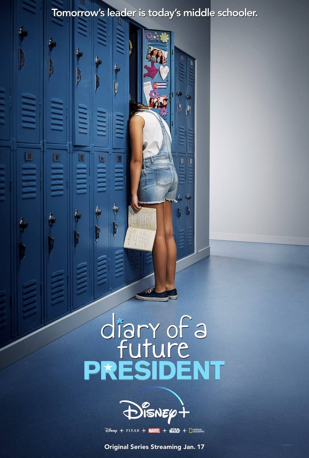 Diary Of A Future President Disney Plus Poster Keyart