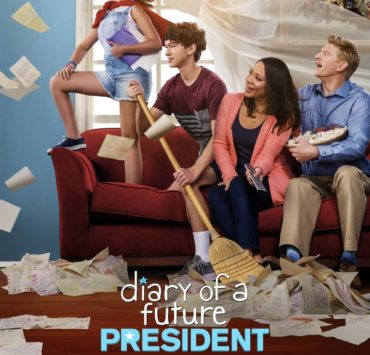 Diary Of A Future President Disney Plus Poster