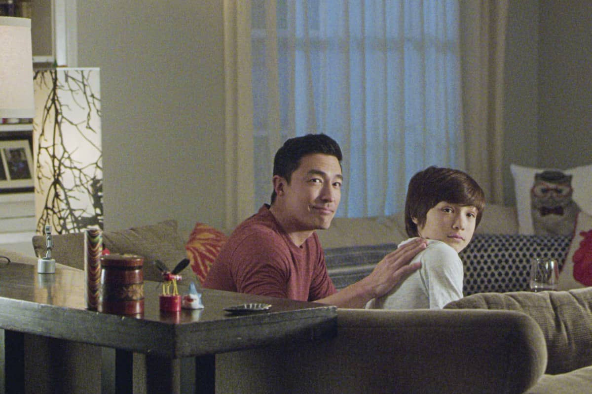"""Spectator Slowing"" -- The BAU team investigates a series of seemingly random fatal explosions throughout Kentucky and Tennessee, on CRIMINAL MINDS, Wednesday, Jan. 15 (9:00-10:00 PM, ET/PT) on the CBS Television Network.  Pictured (L-R): Daniel Henney as Matt Simmons and Ezra Dewey as Jake Simmons  Photo: Screen Grab/CBS ©2019 CBS Broadcasting Inc. All Rights Reserved."
