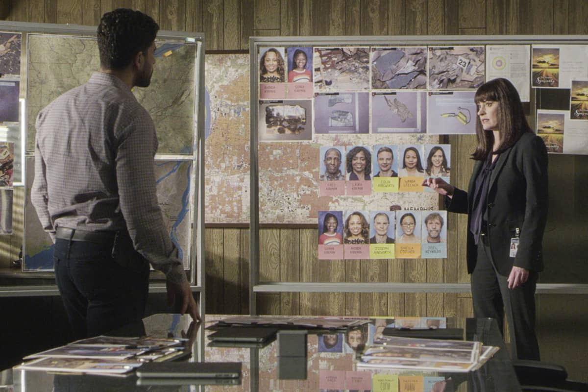 """Spectator Slowing"" -- The BAU team investigates a series of seemingly random fatal explosions throughout Kentucky and Tennessee, on CRIMINAL MINDS, Wednesday, Jan. 15 (9:00-10:00 PM, ET/PT) on the CBS Television Network.  Pictured: Paget Brewster as Emily Prentiss  Photo: Screen Grab/CBS ©2019 CBS Broadcasting Inc. All Rights Reserved."