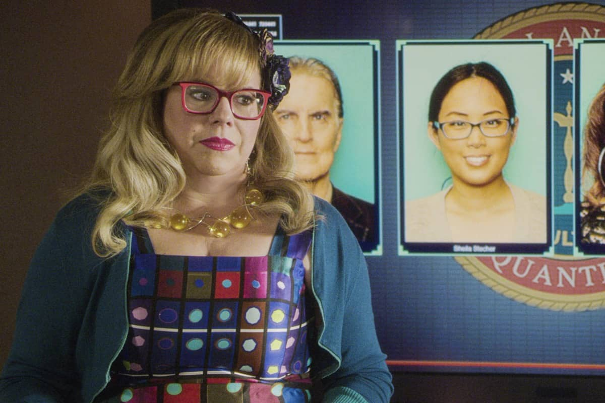 """Spectator Slowing"" -- The BAU team investigates a series of seemingly random fatal explosions throughout Kentucky and Tennessee, on CRIMINAL MINDS, Wednesday, Jan. 15 (9:00-10:00 PM, ET/PT) on the CBS Television Network.  Pictured: Kirsten Vangsness as Penelope Garcia  Photo: Screen Grab/CBS ©2019 CBS Broadcasting Inc. All Rights Reserved."