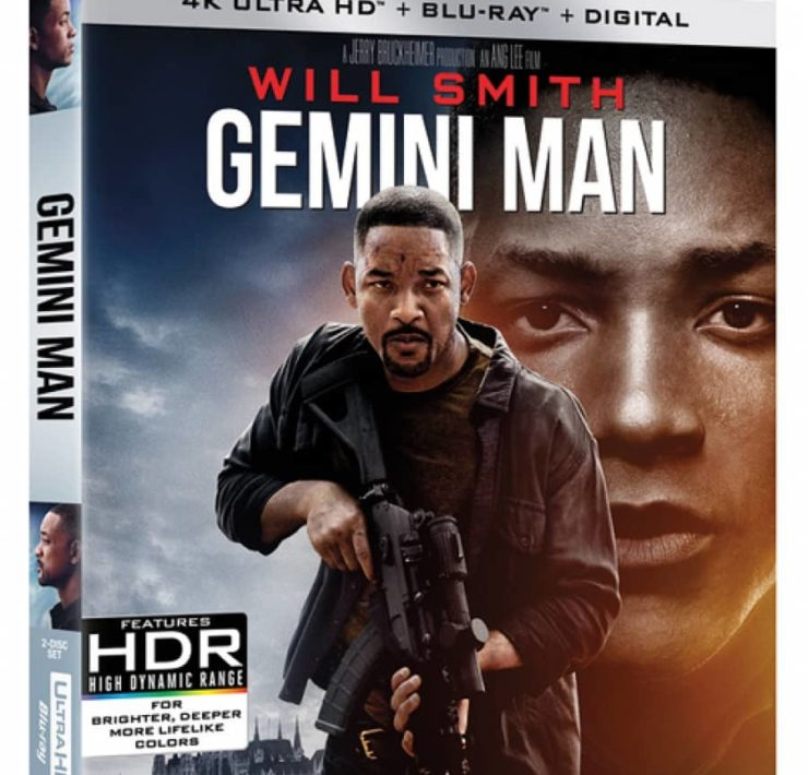 Gemini Man 4k Cover
