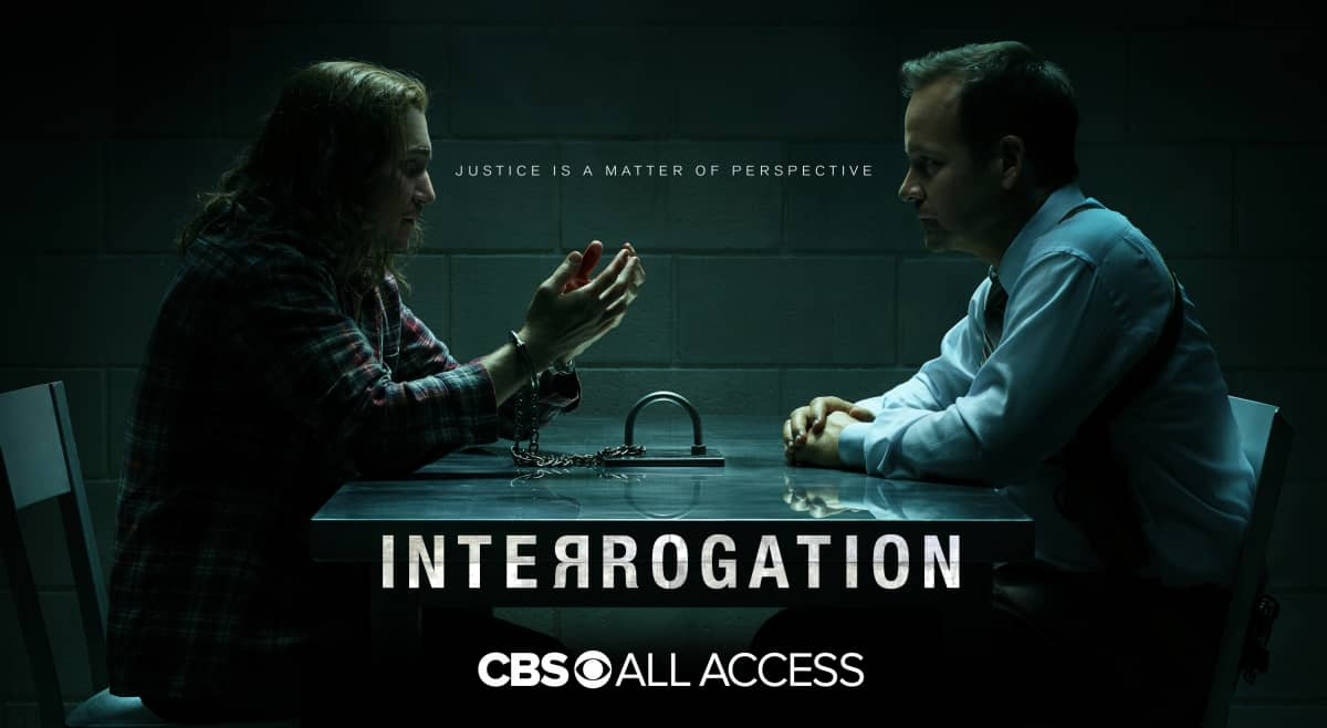 KEY ART -- for the CBS All Access series INTERROGATION. Photo Cr: James Dimmock/CBS ©2019 CBS Interactive, Inc. All Rights Reserved.