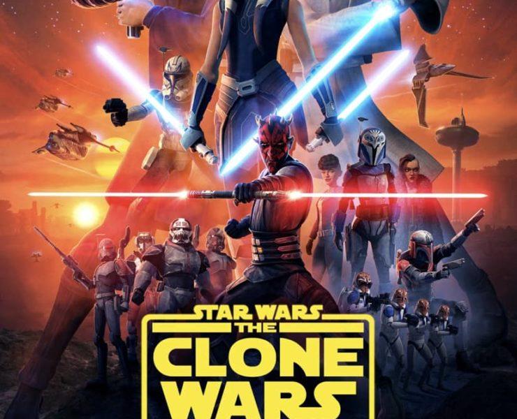 Star Wars The Clone Wars Final Season Poster Disney+