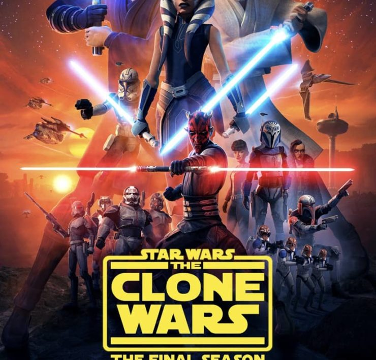 Star Wars The Clone Wars Final Season Poster Disney+