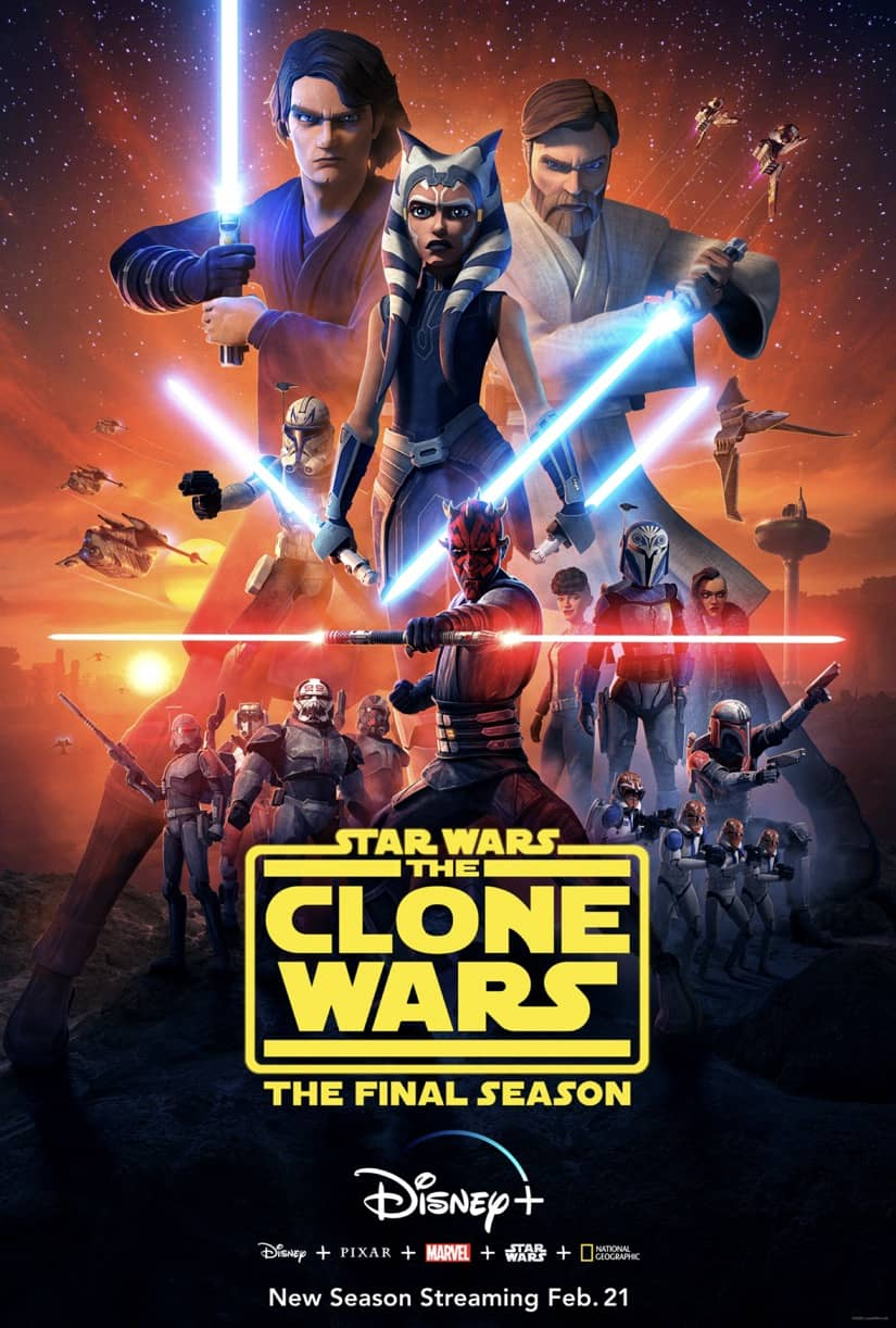 Star Wars The Clone Wars Final Season Trailer And Poster Seat42f