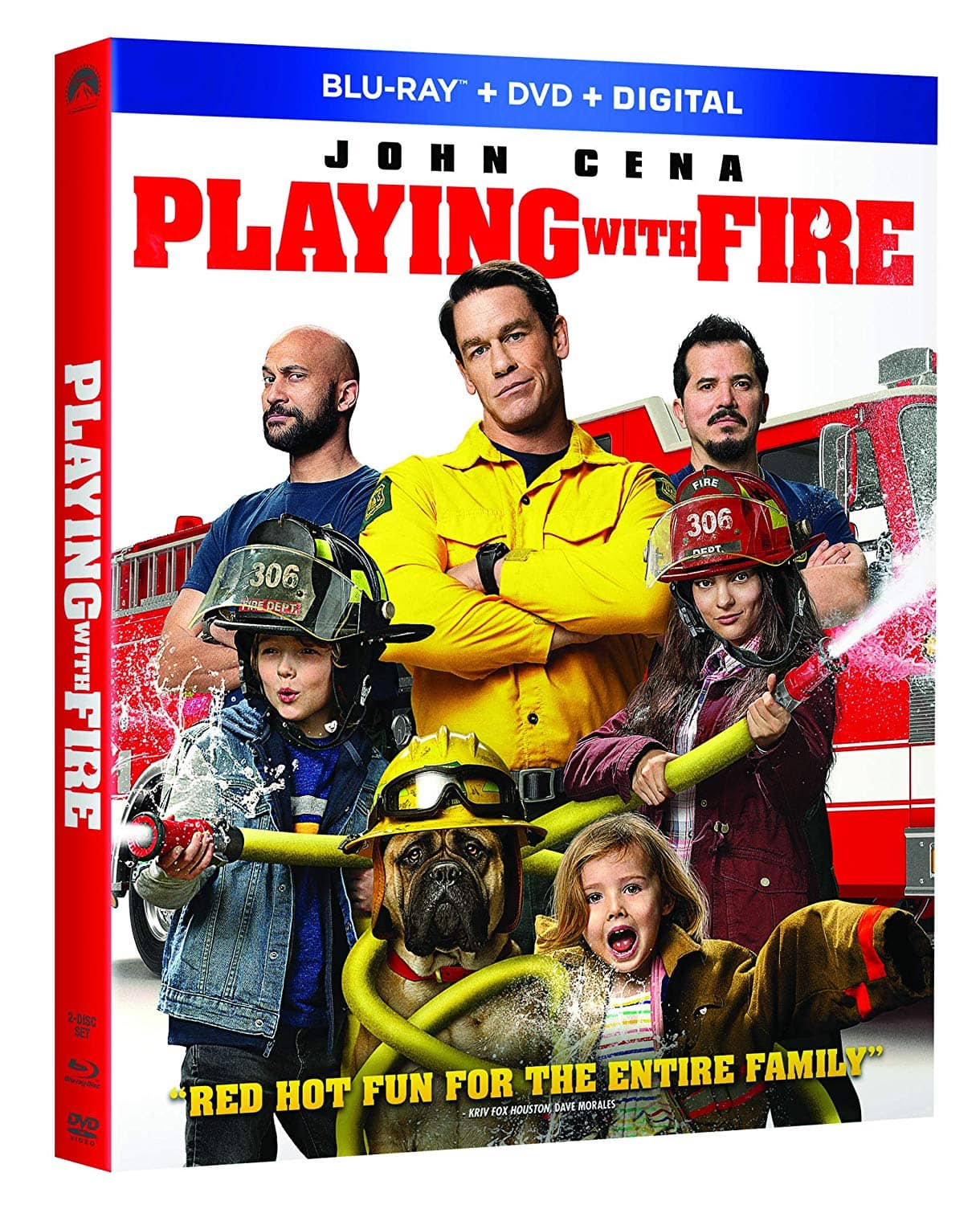 PLAYING WITH FIRE Bluray