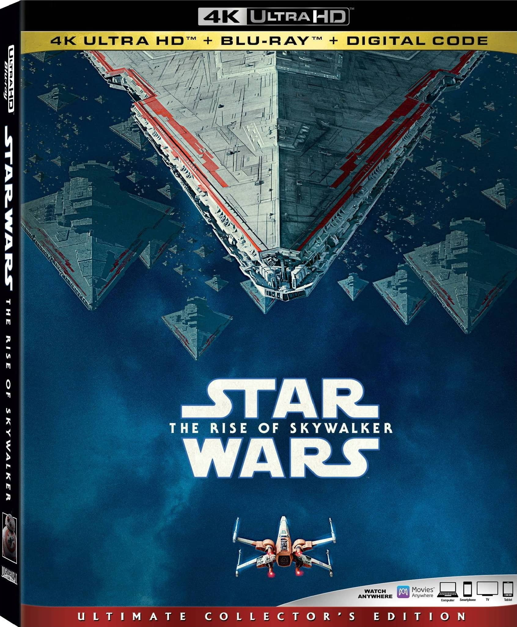 Star Wars The Rise Of Skywalker 4k Bluray