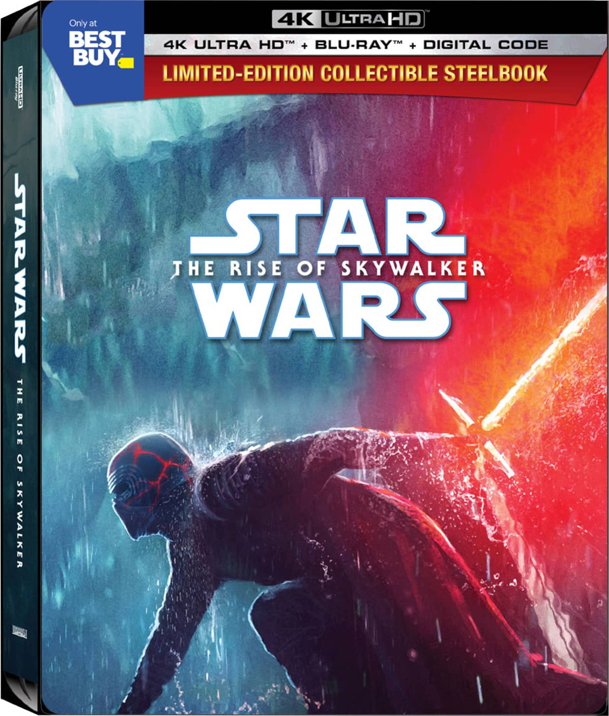 Star Wars The Rise Of Skywalker Steelbook