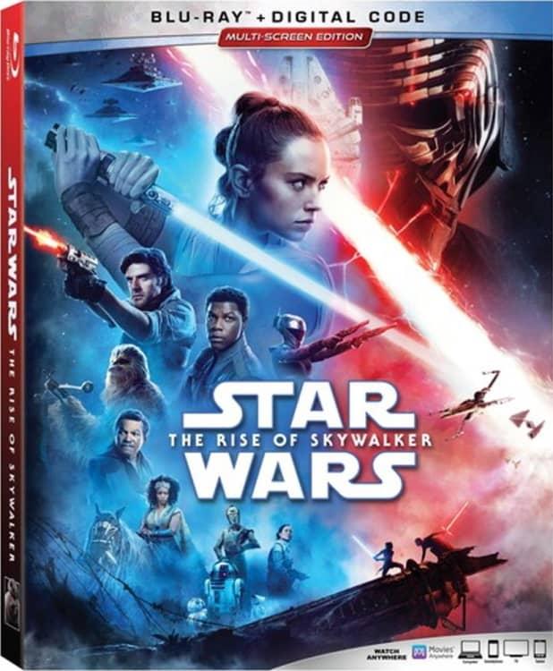 Star Wars The Rise Of Skywalker Bluray