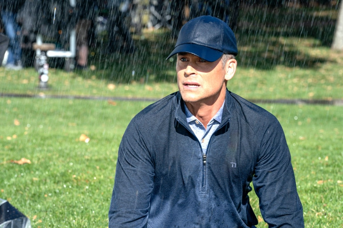 "9-1-1: LONE STAR: Rob Lowe in the ""Bum Steer"" episode of 9-1-1: LONE STAR airing Monday, Feb. 24 (8:00-9:01 PM ET/PT) on FOX. ©2020 Fox Media LLC. CR: Jack Zeman/FOX."