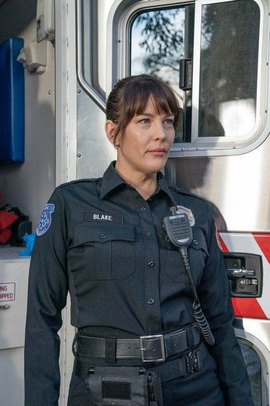 "9-1-1: LONE STAR: Liv Tyler in the ""Monster Inside"" episode of 9-1-1: LONE STAR airing Monday, March 2 (8:00-9:01 PM ET/PT) on FOX. ©2020 Fox Media LLC. CR: Jack Zeman/FOX."