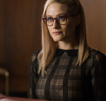 "THE MAGICIANS -- ""Cello Squirrel Daffodil"" Episode 509 -- Pictured: Olivia Taylor Dudley as Alice Quinn -- (Photo by: James Dittinger/SYFY) NUP_188466_0254.JPG Wednesday, March 4 on SYFY (10-11 p.m. ET)"